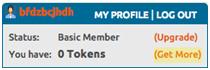 profiel chaturbate tokens